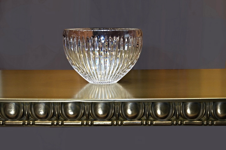 Brass Table with Egg and Dart Edge