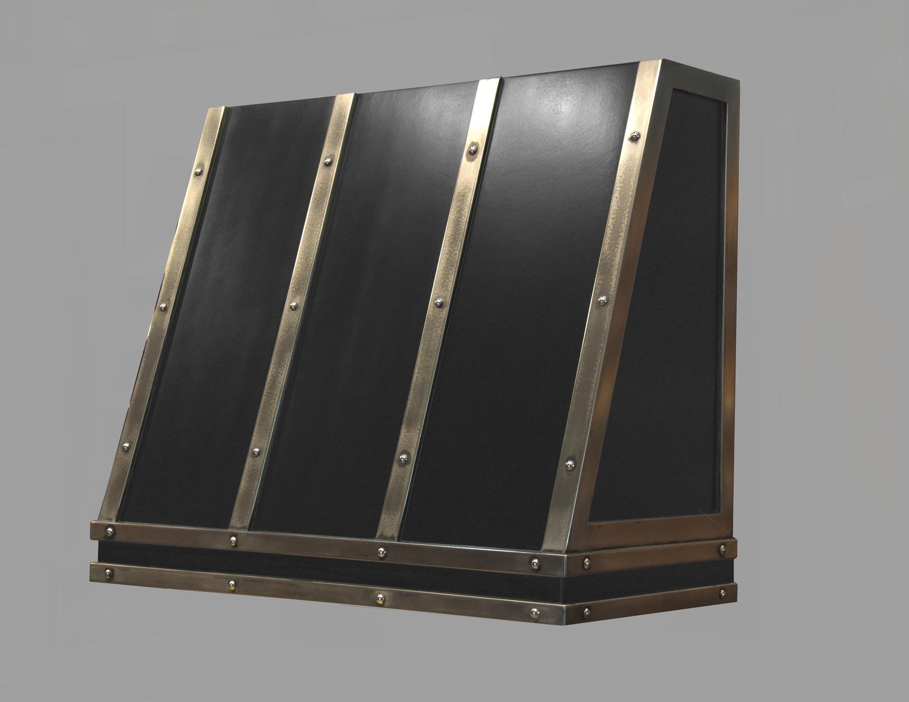 Enamel and Stainless Steel Range Hood Shell