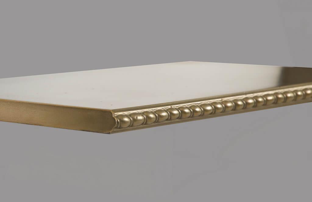 St. Johns Metal Edge Profile in Brass
