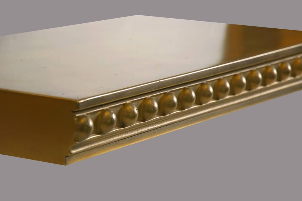 Londonderry Metal Edge Profile in Brass