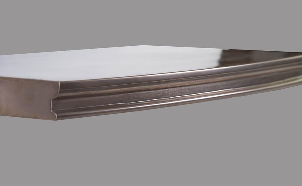 Annapolis Style Metal Edge Profile in Bronze