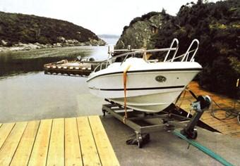 Båtopptrekksvogn