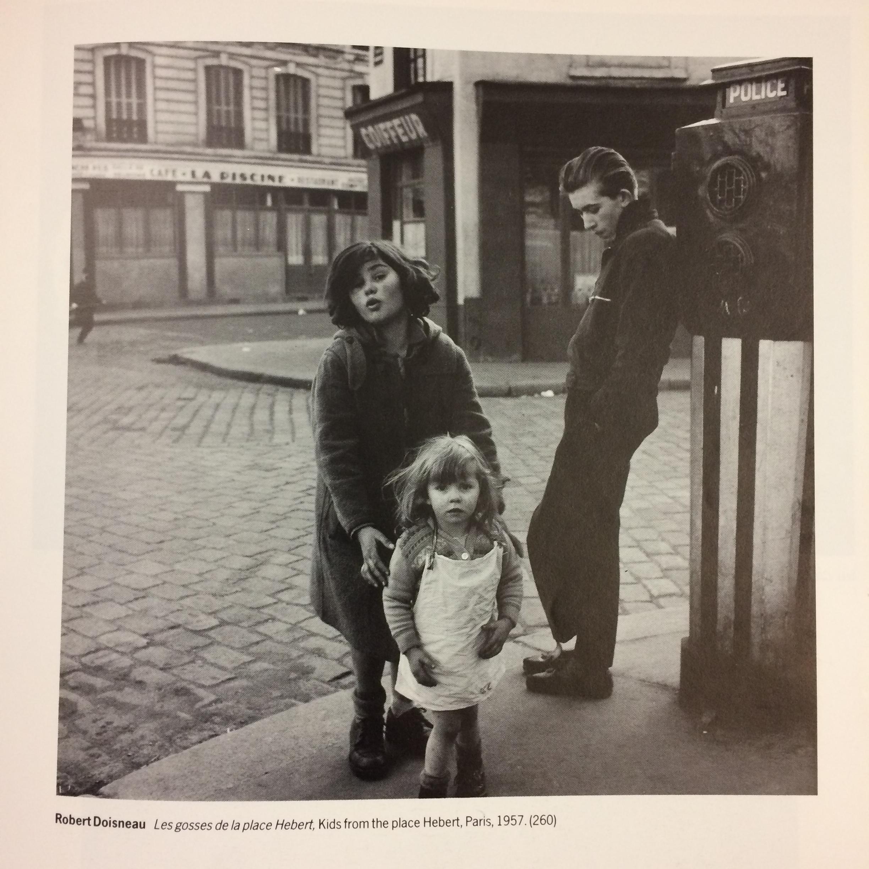 photo by Robert Doisneau titled Kids from the place Herbert. Paris, 1957