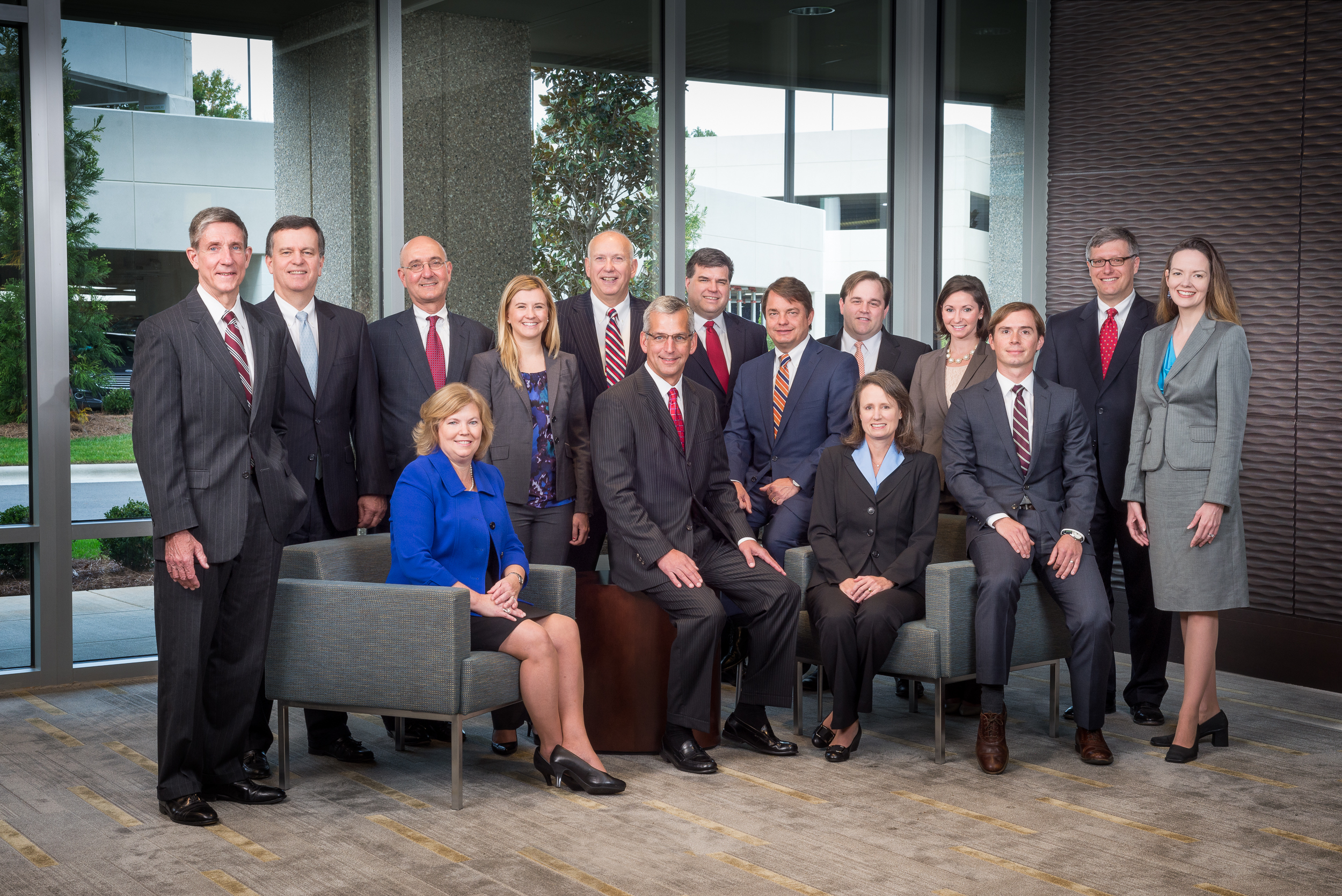 Corporate Group Photography for website, Raleigh, NC