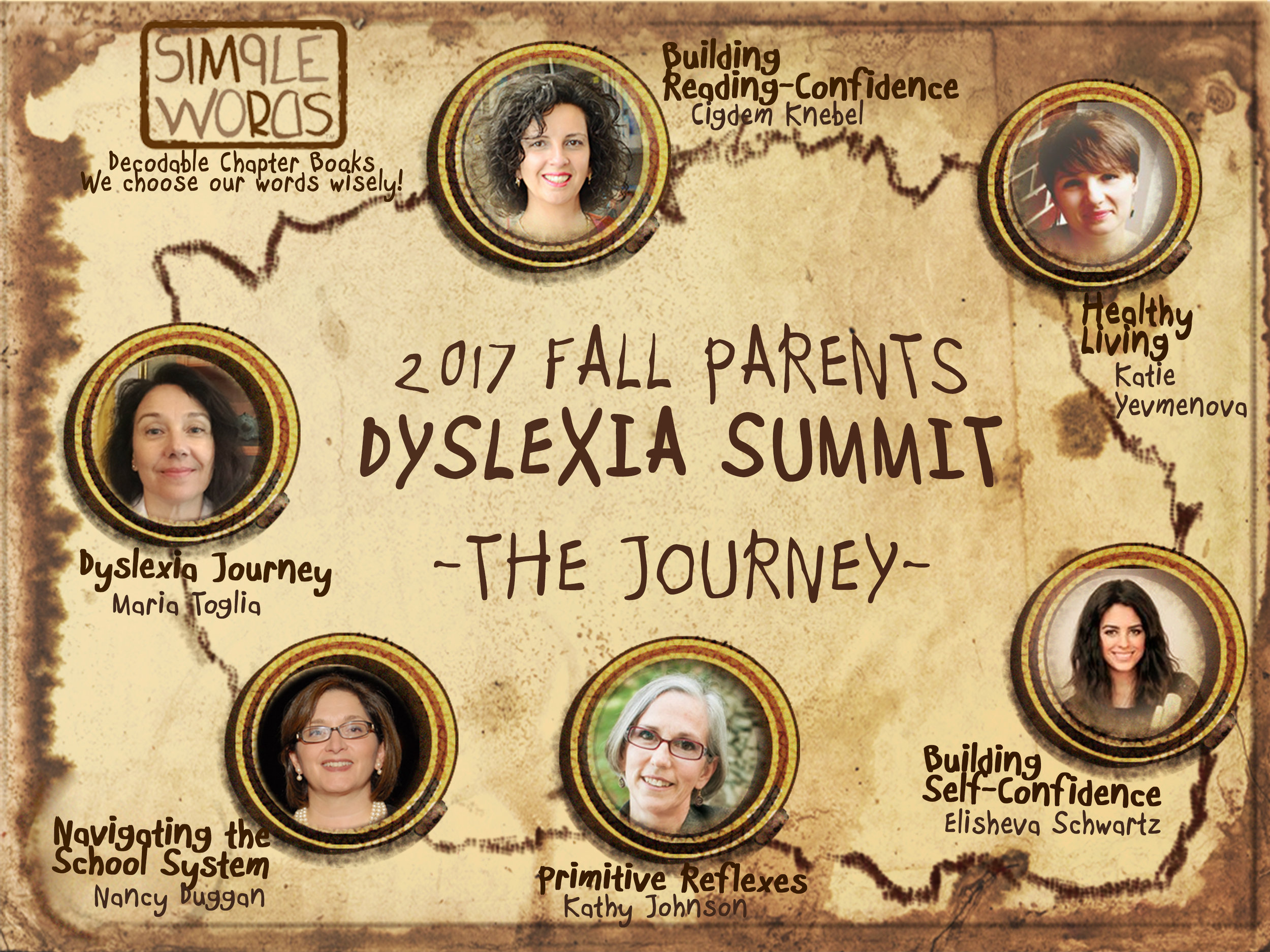 Online Dyslexia Summit Map 2017 Fall Simple Words Books