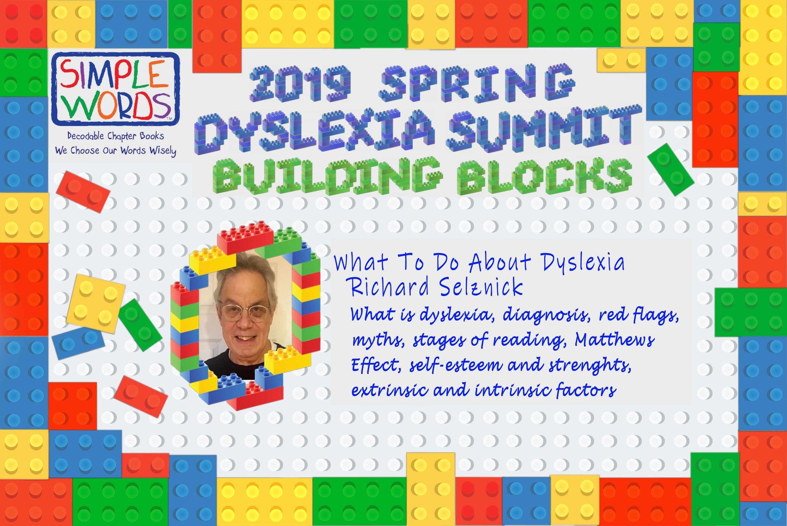 2019 Spring Dyslexia Summit Simple Words Books_Richard Selznick.jpg