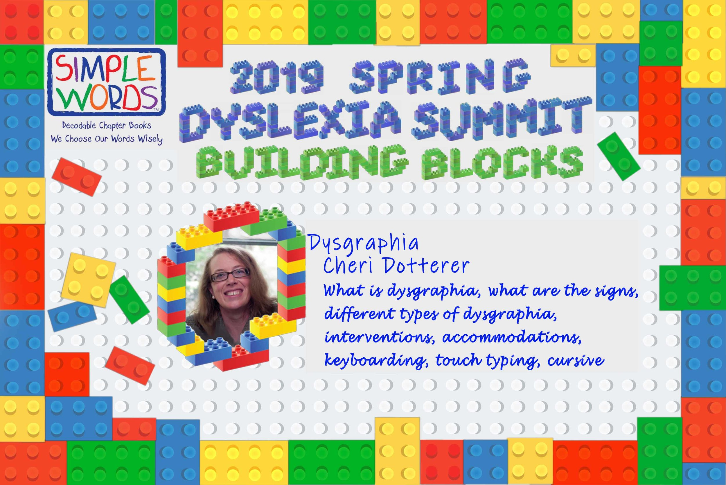 2019 Spring Dyslexia Summit Simple Words Books_Cheri Dotterer.jpg
