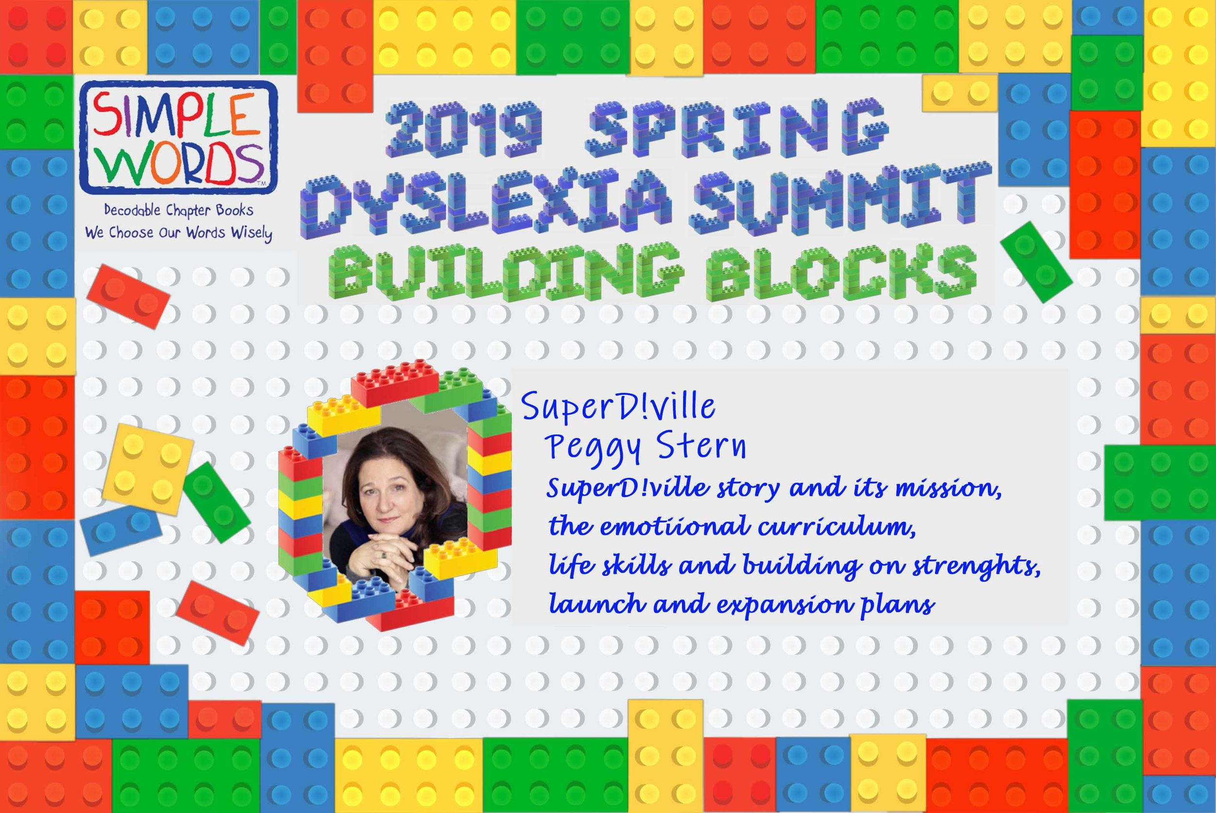 2019 Spring Dyslexia Summit Simple Words Books_Peggy Stern.jpg