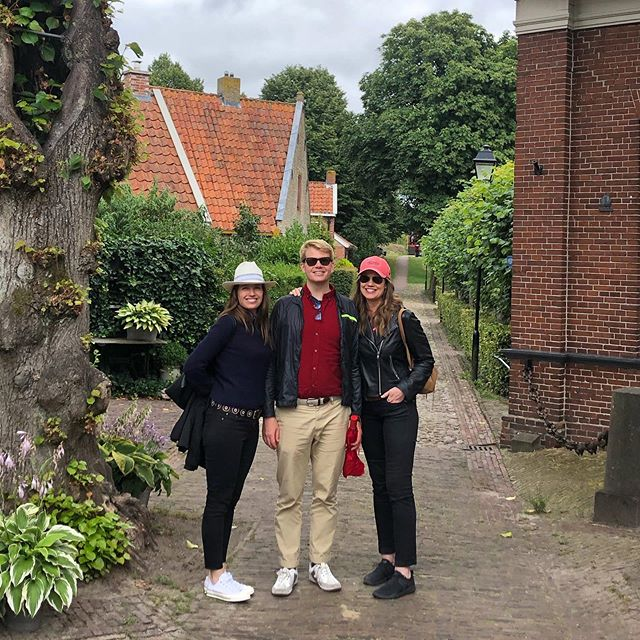 The Meyer's have arrived in Friesland to discover our heritage! 🍻 #meyerrootstrip