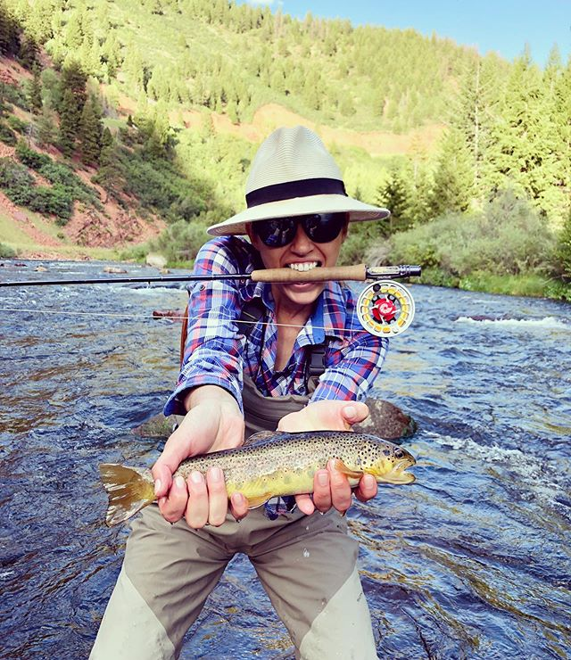 Wild Saturday night! 🇺🇸 @ianskiian #flyfishing