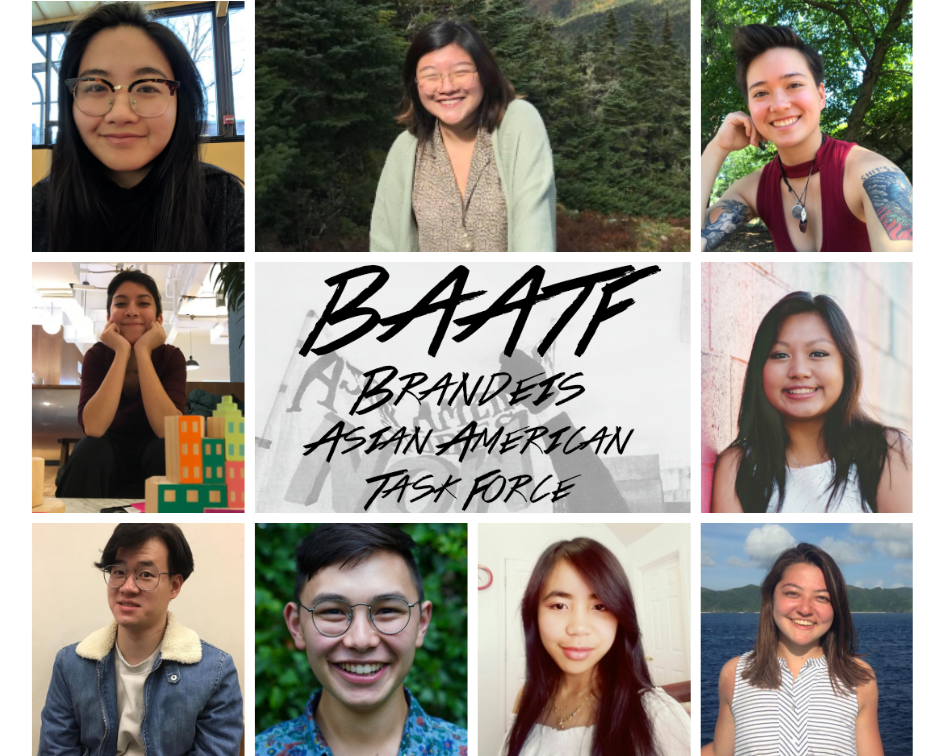 Facilitators:    Brandeis Asian American Task Force