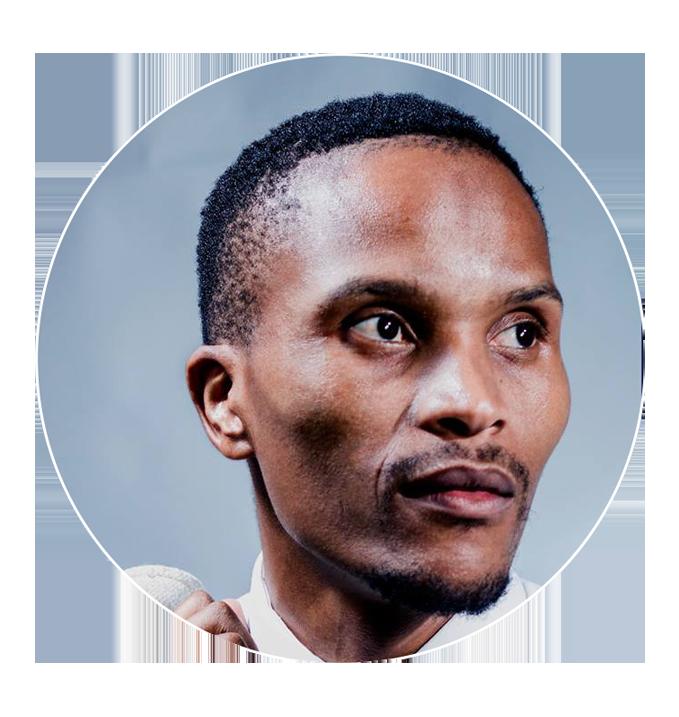 Olefile Rabolele   Campus Outreach Alum,Executive Producer at  Beyond The Eyes Network