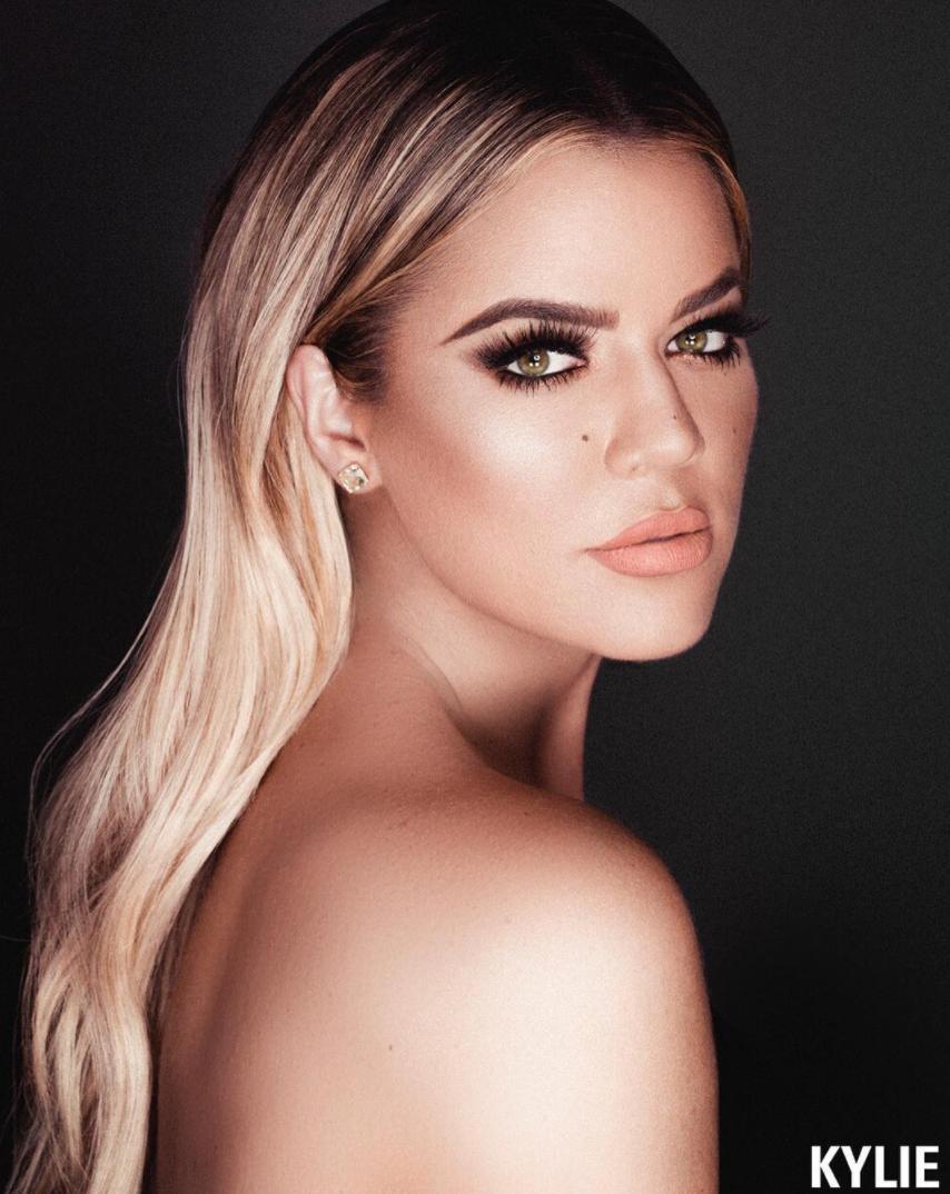 Khloe Kardashian for Kylie Cosmetics