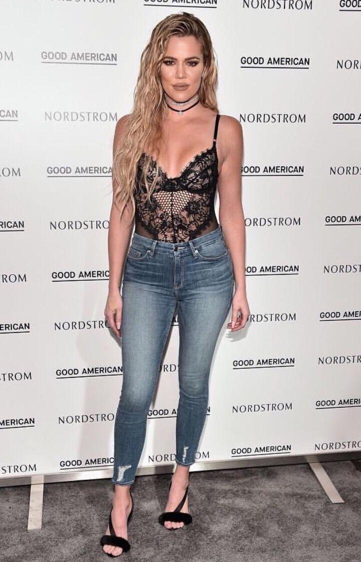 Khloe Kardashian Good American Launch