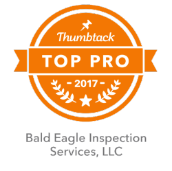 Bald Eagle Inspection Services, LLC Thumbtack Top Pro 2017