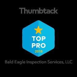 Bald Eagle Inspection Services, LLC Thumbtack Top Pro 2018.PNG