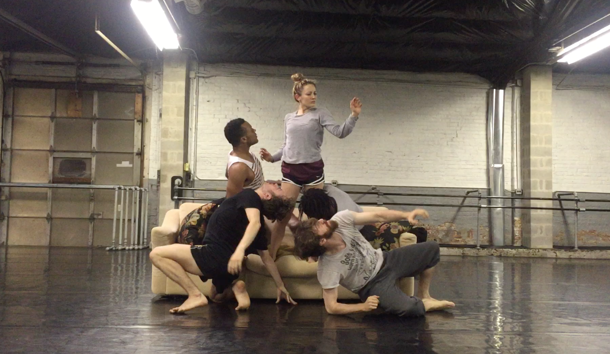 Rehearsal shots for Physical Festival Chicago 2016