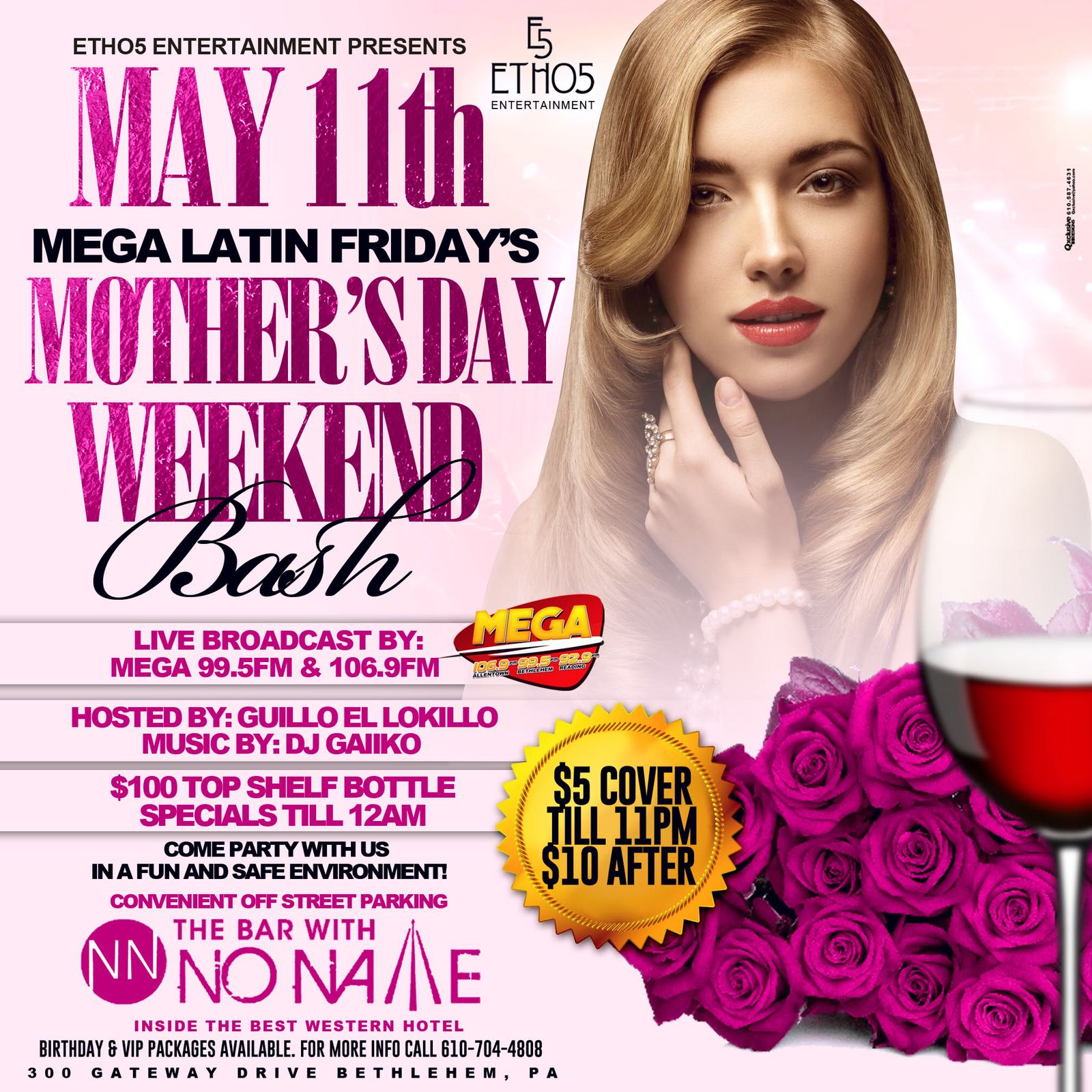 Mother's Day Weekend Bash