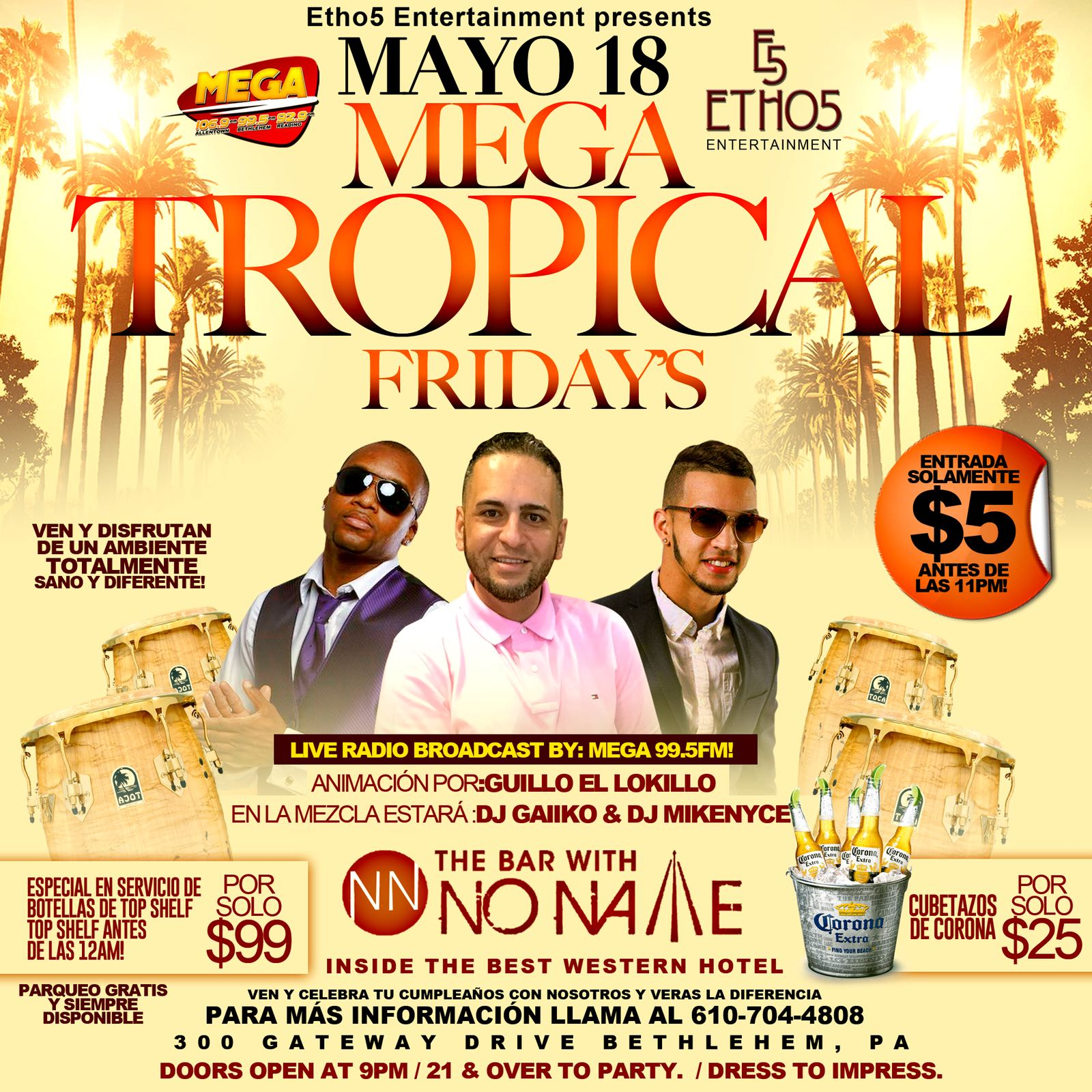 Mayo 18 Tropical Fridays