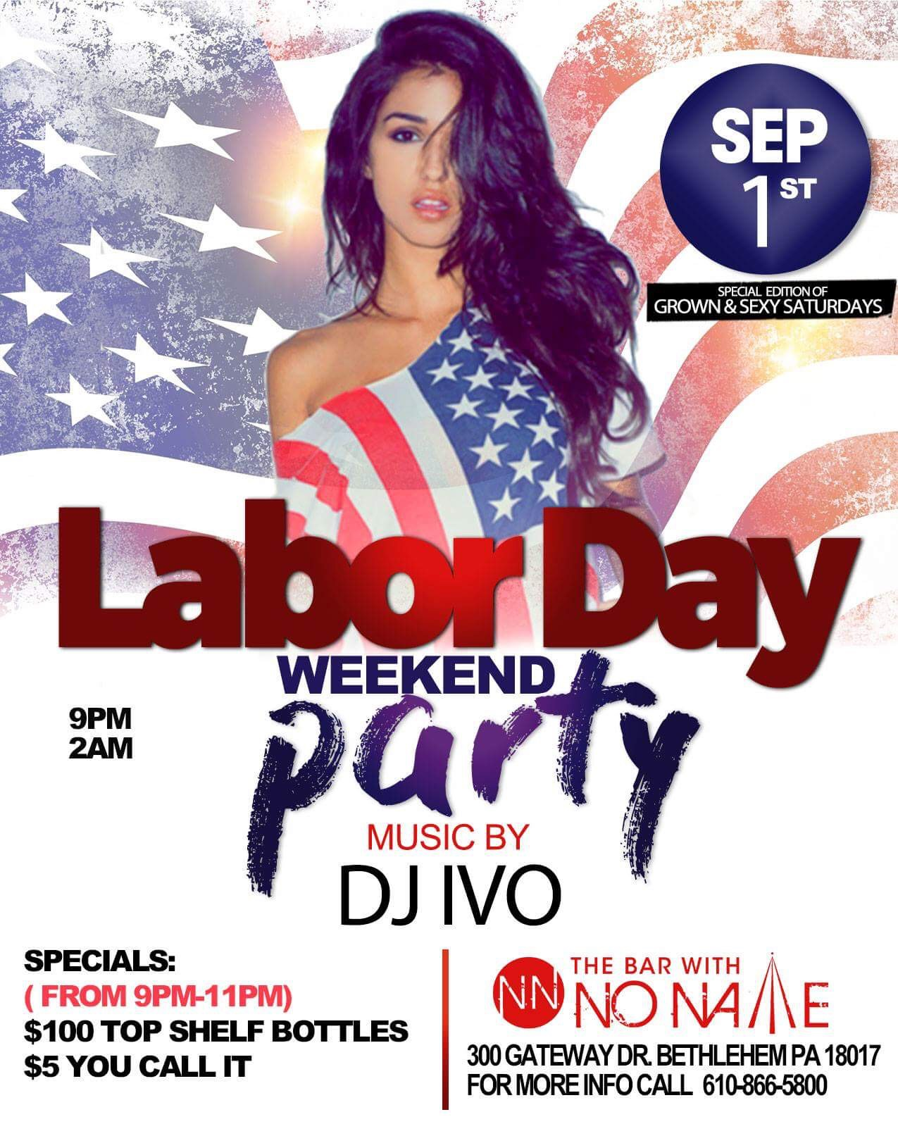 Labor Day Party Weekend