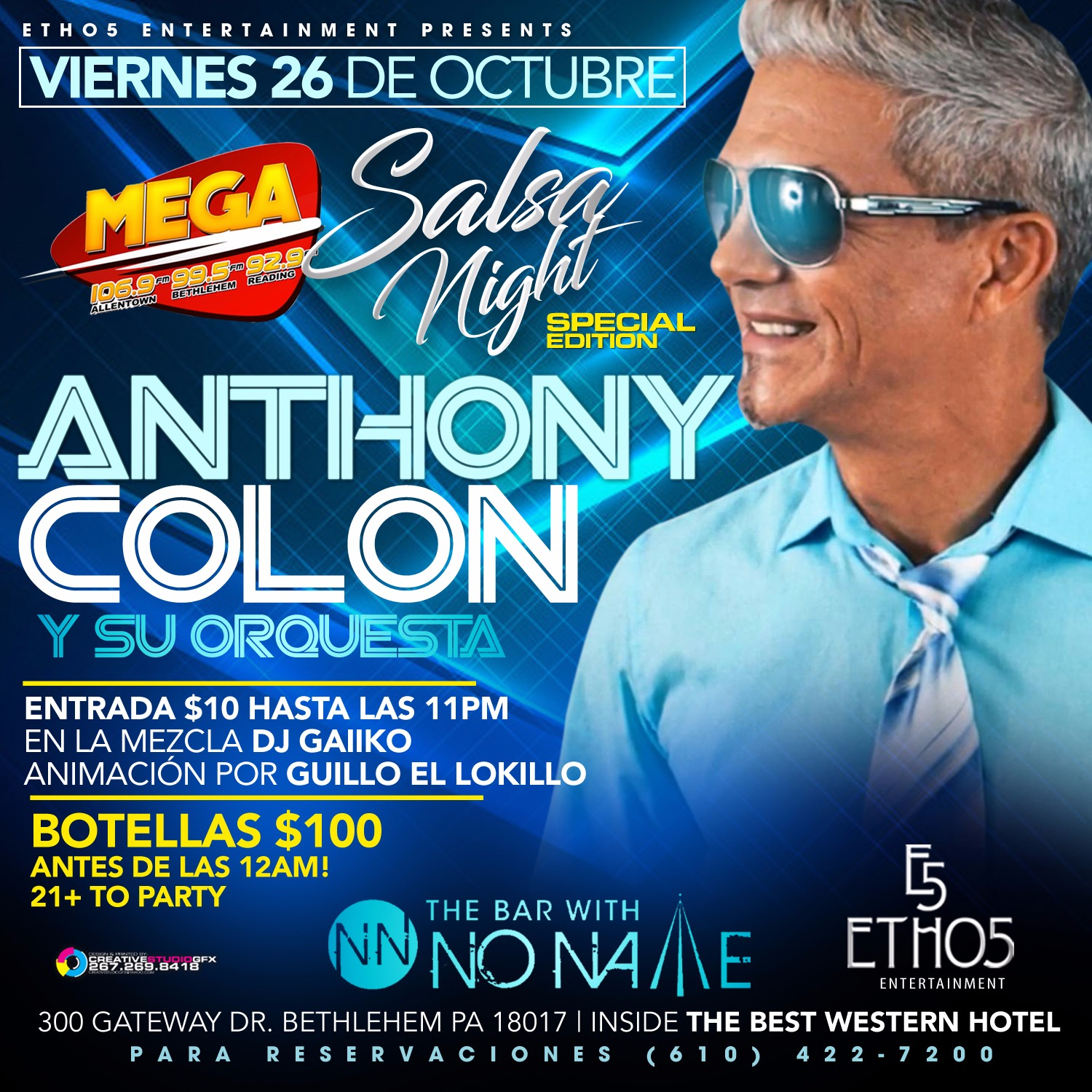 Salsa Night with Anthony Colon
