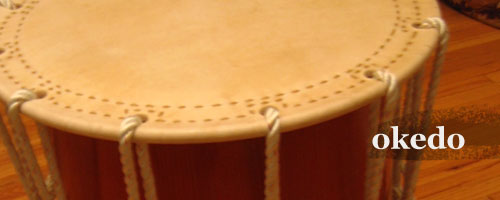 Bodies are made from Keller maple plywood drum shells for very light weight and strength