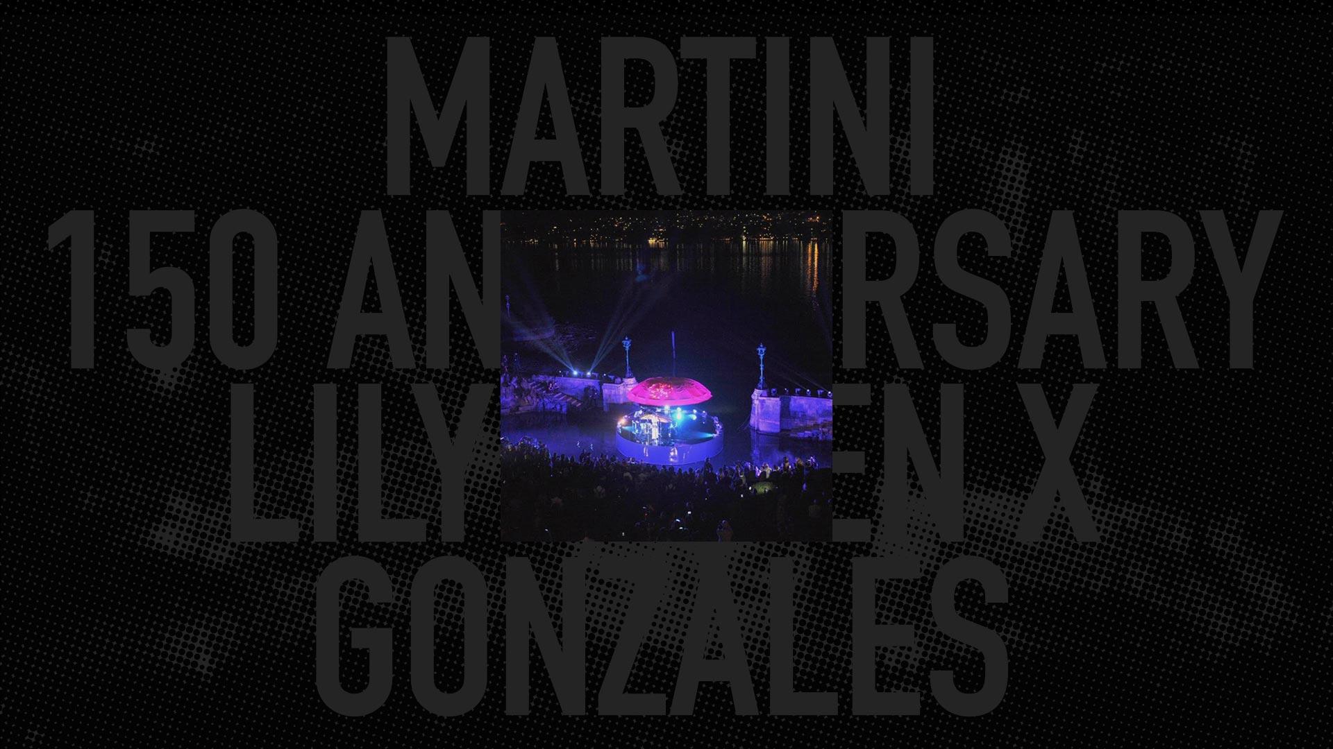MARTINI<br/>150 ANNIVERSARY<br/>LILY ALLEN X GONZALES