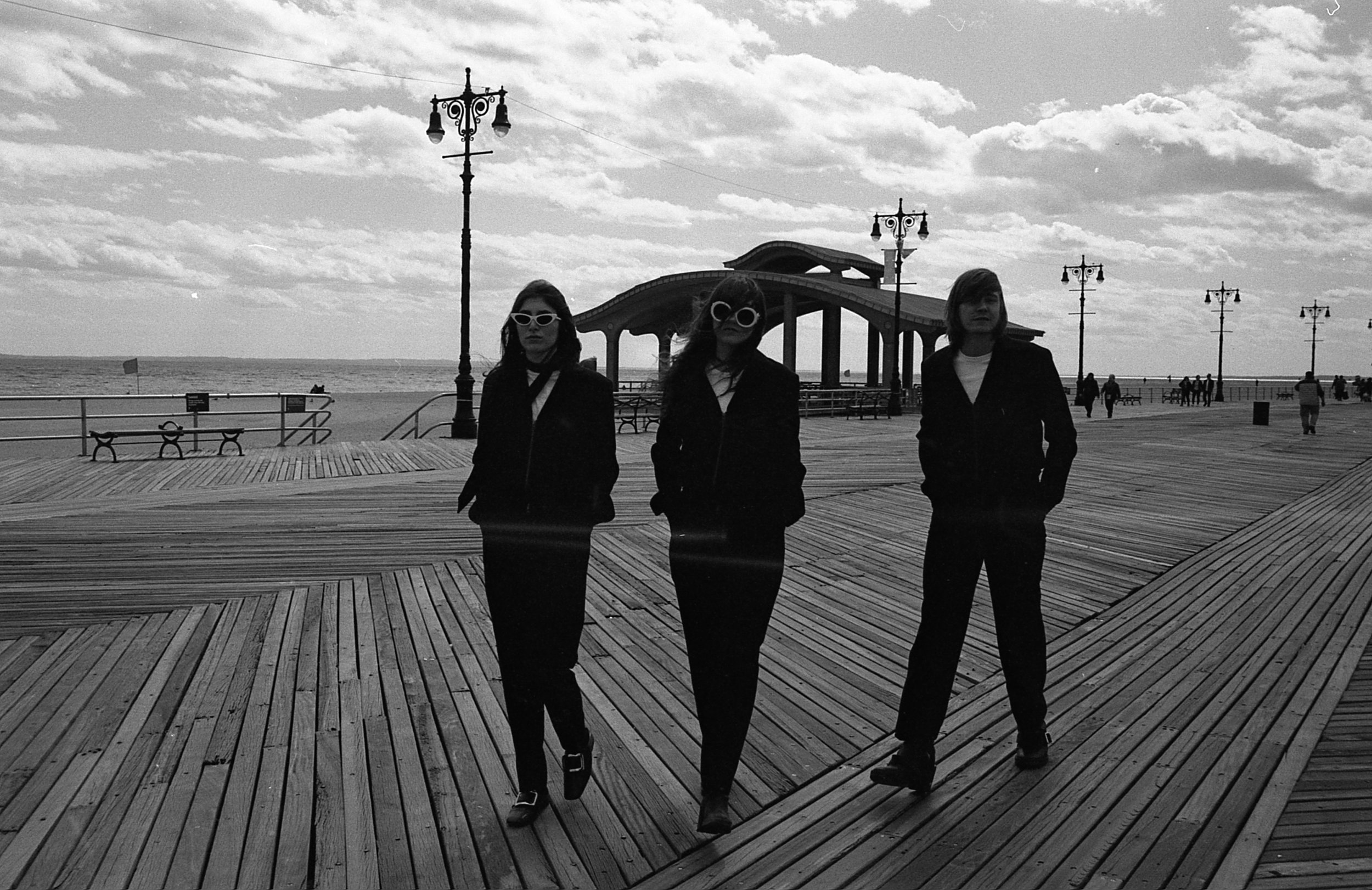 Moonwalks in Coney Island, April 2019