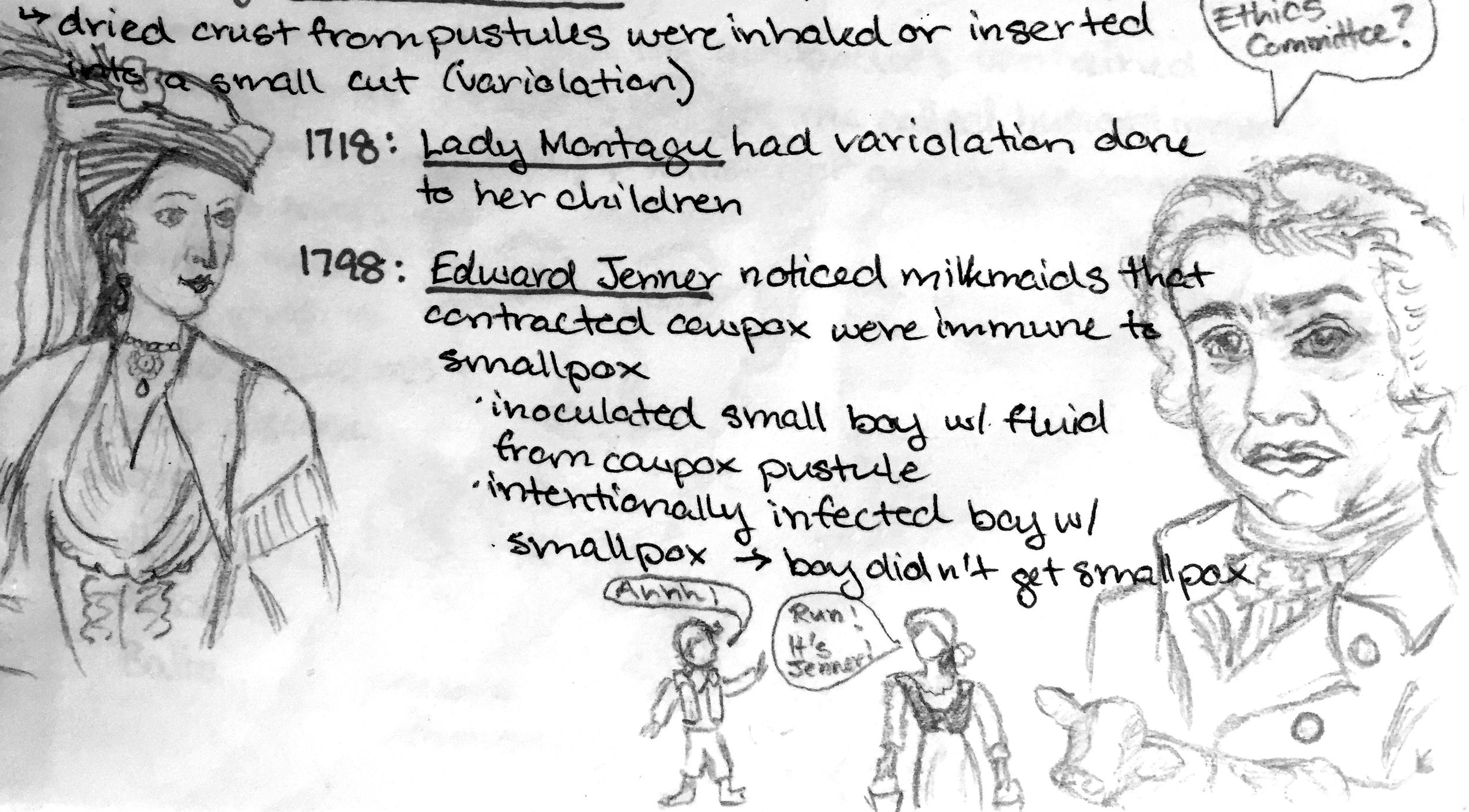 (Yes, those are my undergrad immunology notes.)