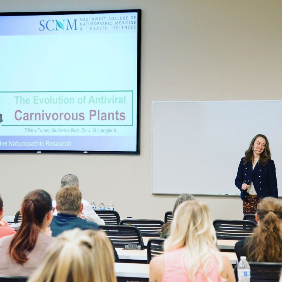 The Evolution of Antiviral Carnivorous Plants - Research Night 2017