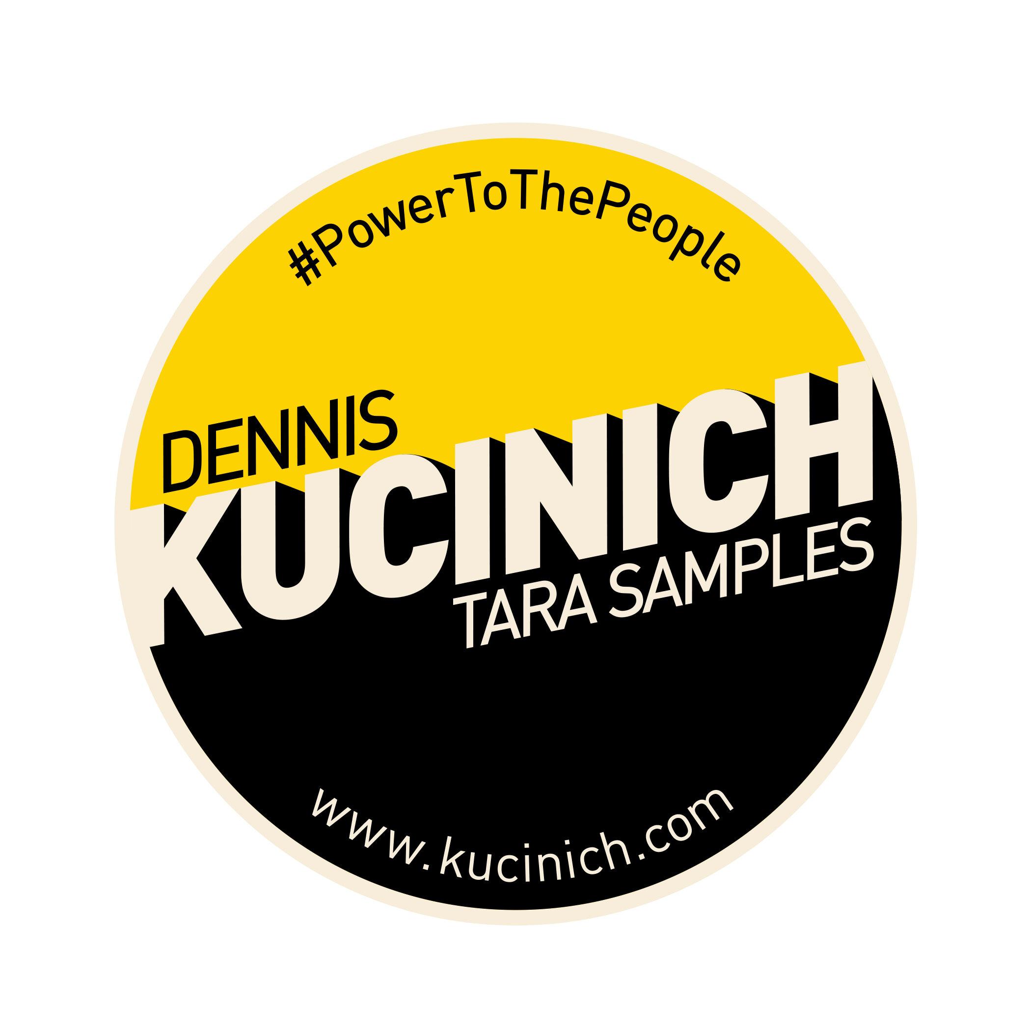 DENNIS KUCINICH CAMPAIGN - 2018