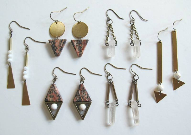 Earrings by Luxe Debris