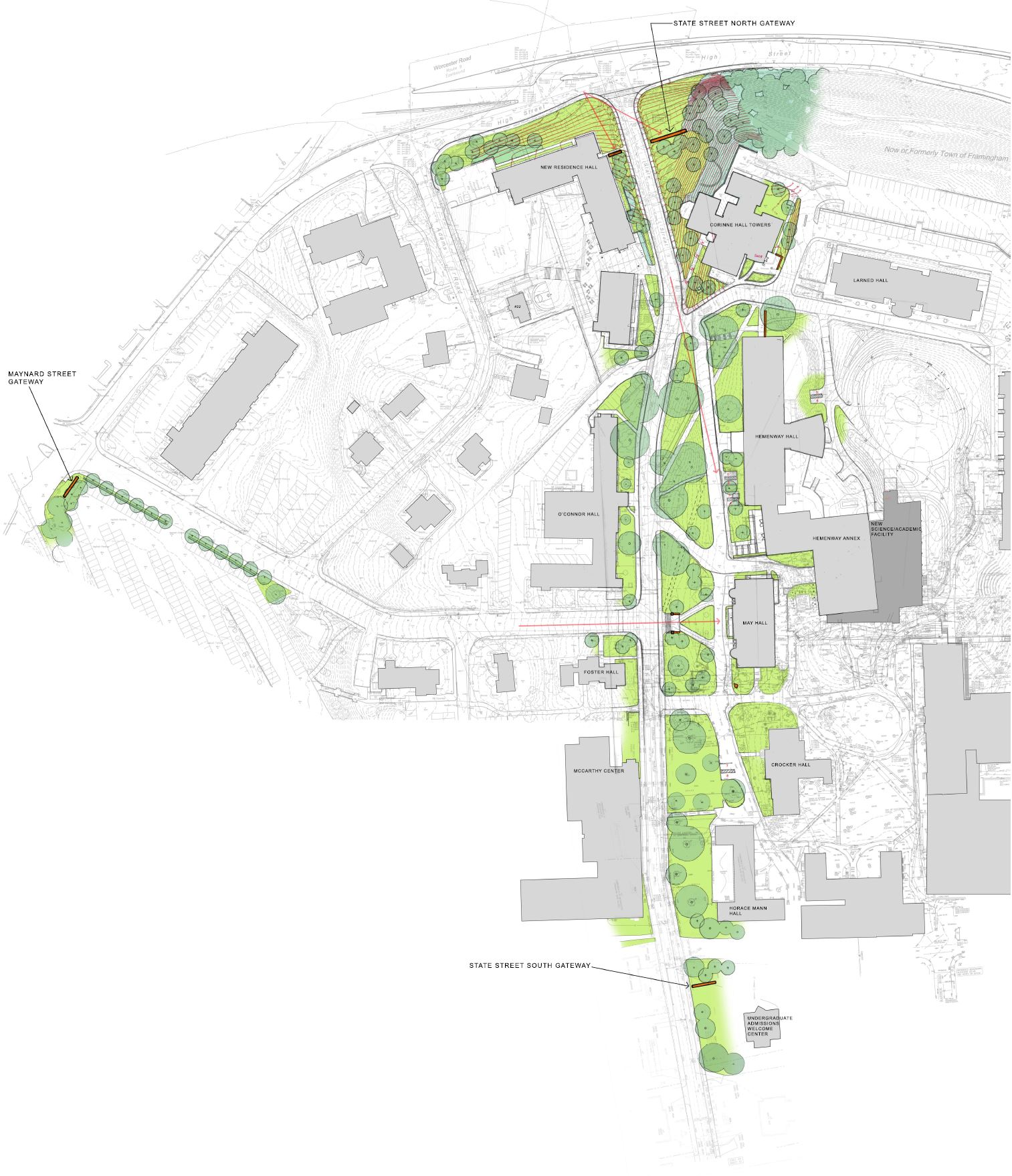 Campus Gateways and Connective Space Evaluations