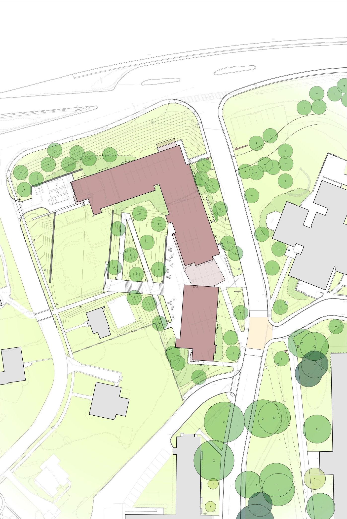 North Hall Site Plan