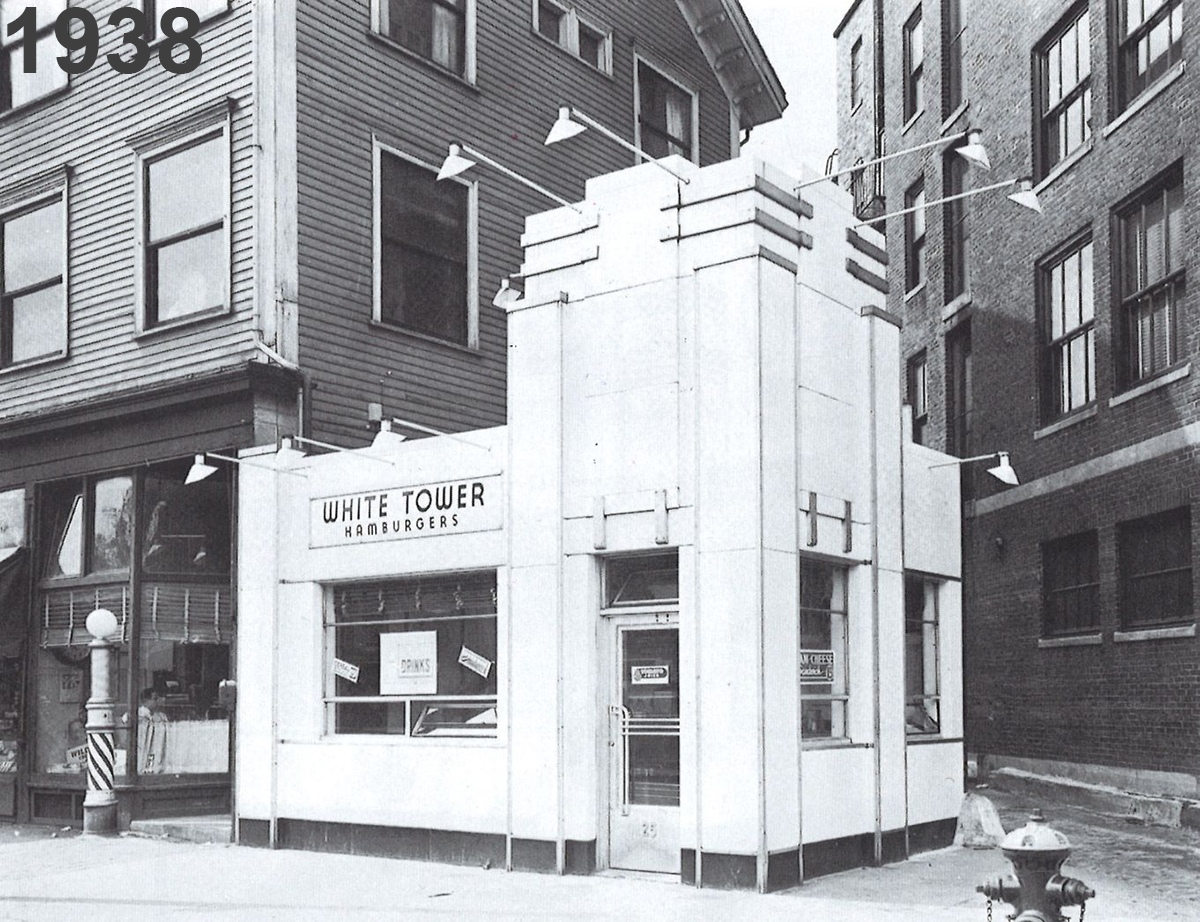 White Tower Restaurant - 1938