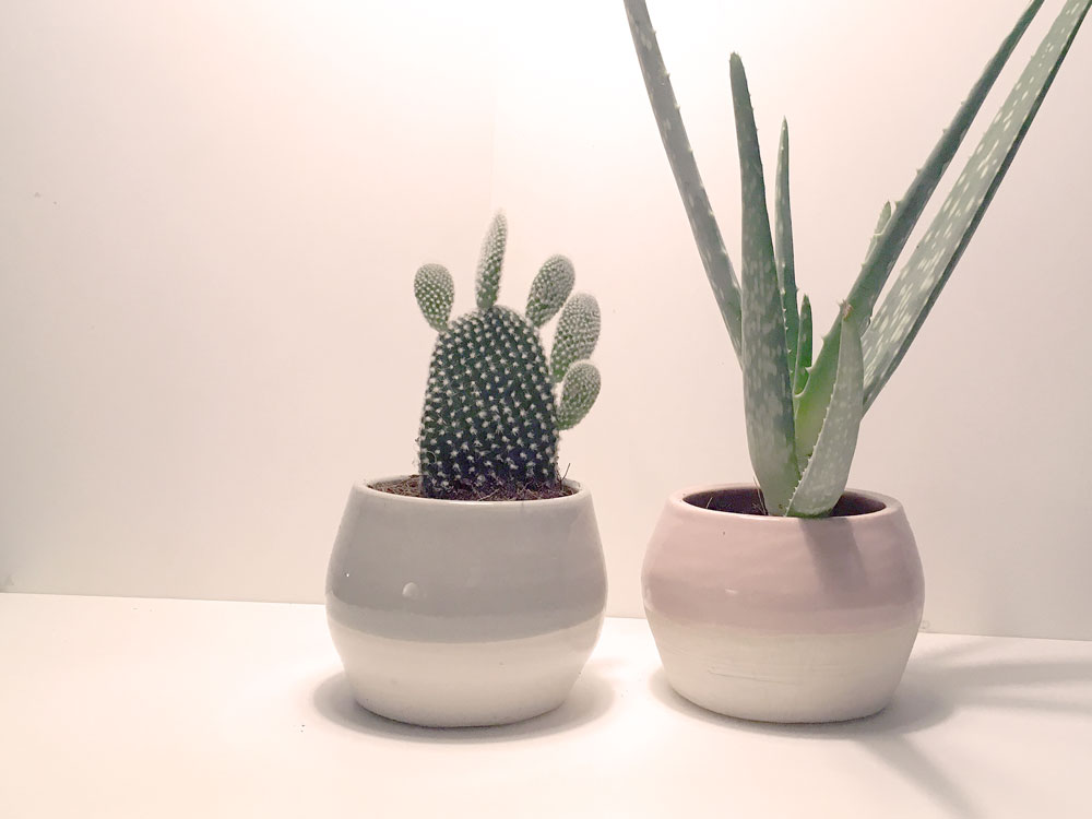 Recycled candle pots from noctu.