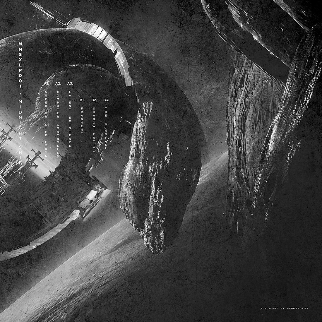 umwelt - superior life forms  art and layout created for singaporean techno-record label midnight shift and lyon-based musician umwelt's new lp titled 'Superior life forms'  Founder of Rave or Die and of the New Flesh Records imprint, Umwelt boasts over forty releases to date, which place him among the most prolific French electronic producers. In 2016, after a long spell off the radar, this expert in ferocious distortions tinted with sweet melancholy delivered his second album, entitled Days of Dissent and released on Boidae. The opus was highly acclaimed by the public and the press, which proclaimed it an electro referent.  Letting instinct guide him in his path, umwelt continues the work of early pioneers while progressively leading listeners into dark, melancholic mental atmospheres.  buy music:  https://umwelt.bandcamp.com/   facebook  /  instagram  /  soundcloud  /  bandcamp   Pencil, digital media August 2019