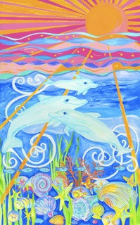Dolphin Family canvas.jpeg