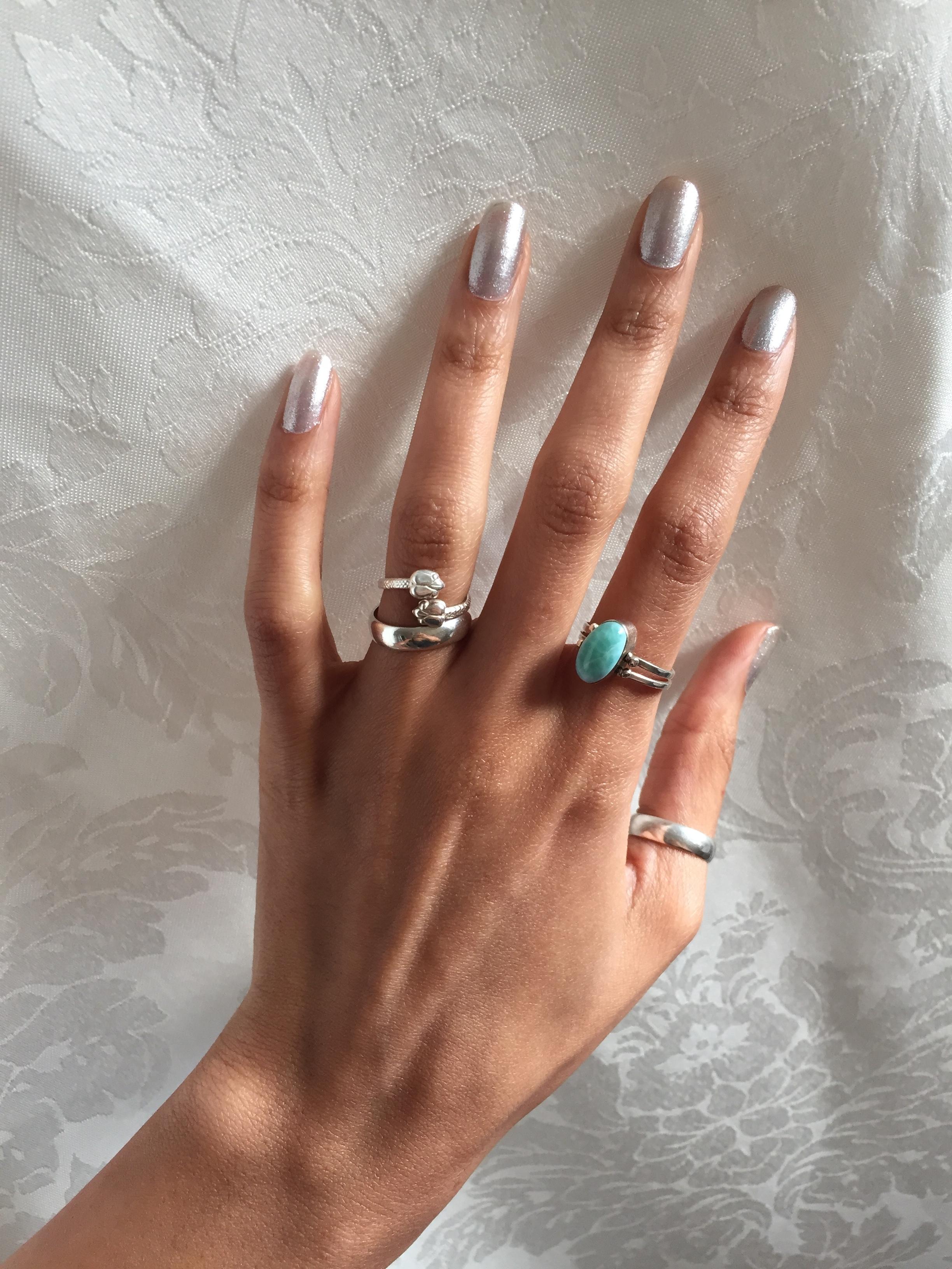Rings: Dominican Republic, India, Venice