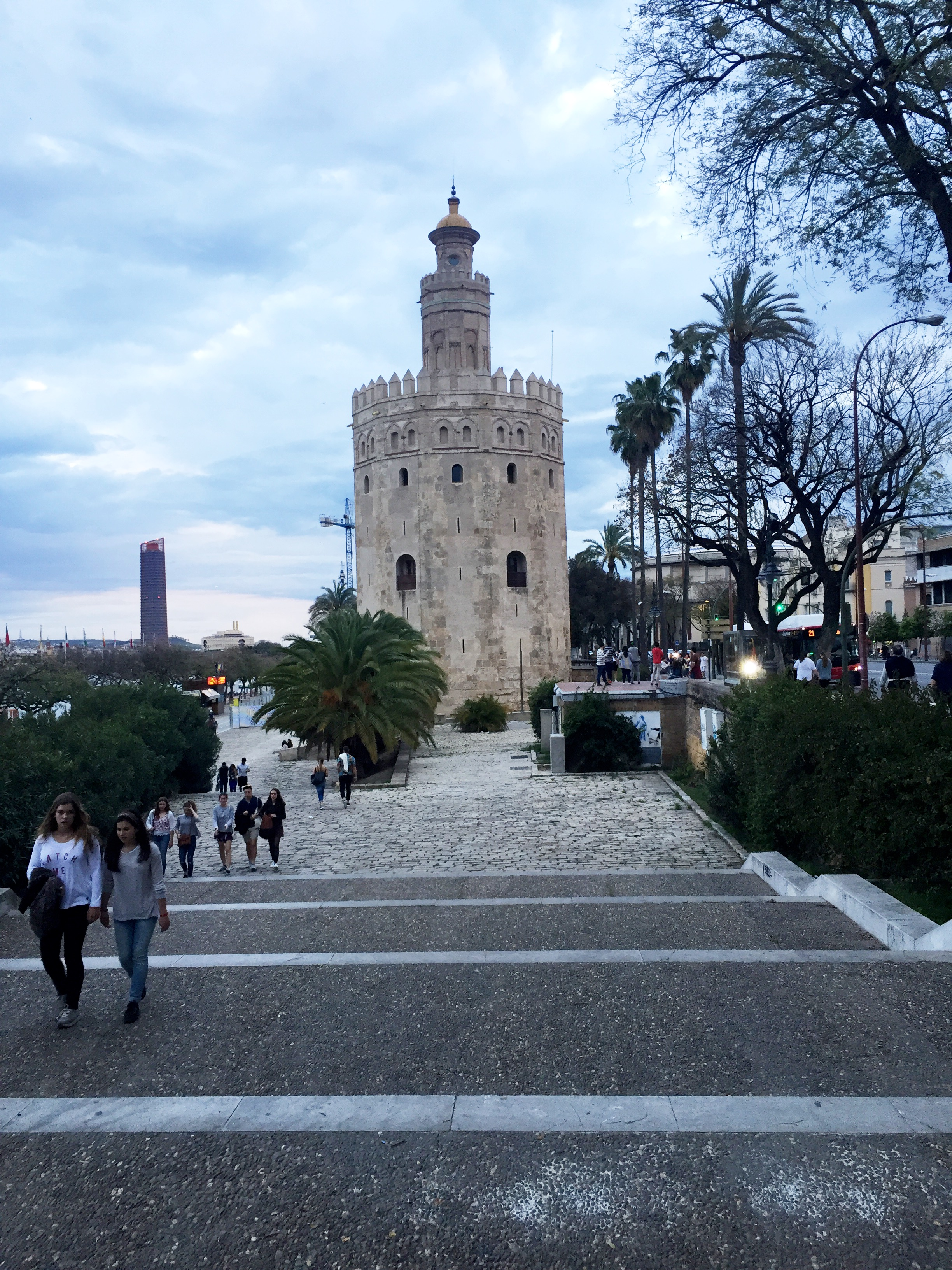 Torre Del Oro. Seville's defensive tower that doubled up as a prison from the 13th century