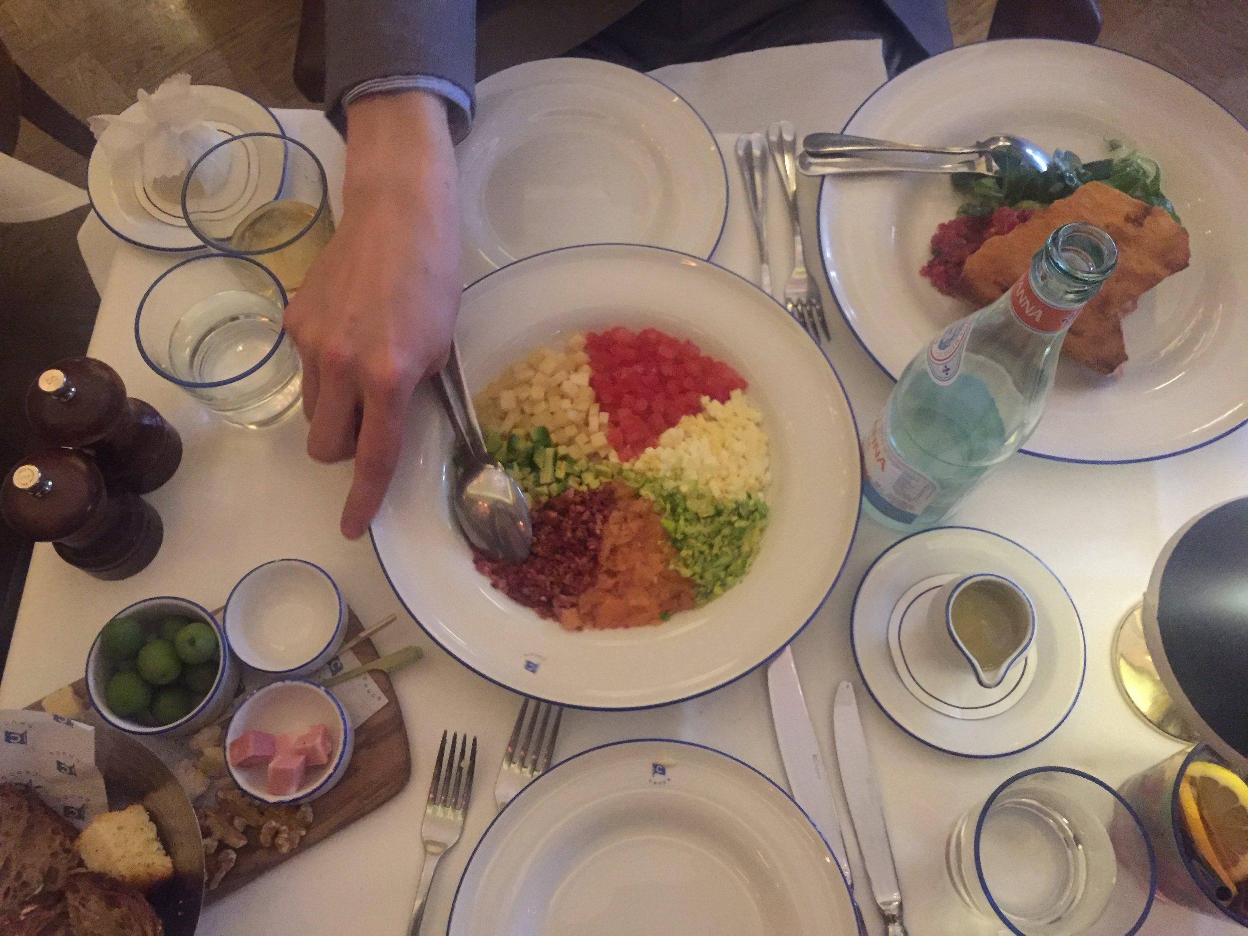 Good ol' Cobb Salad for two