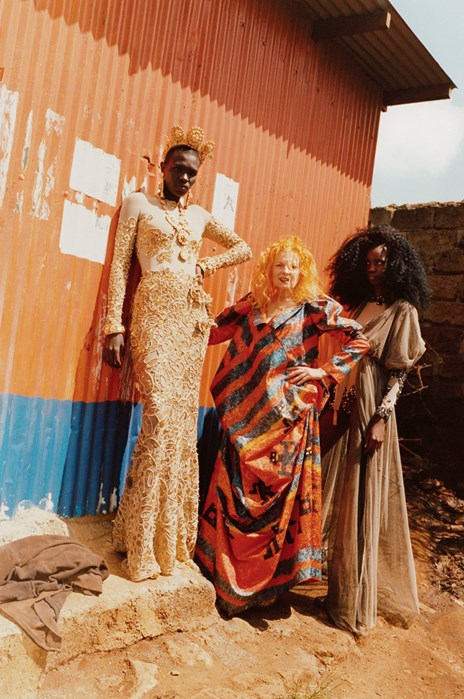 2011 Ethical Fashion Africa Campaign - aimed to empower female workers in Nairobi. Bags in this collection were made by women in the capital under fair working conditions and using disregarded materials.