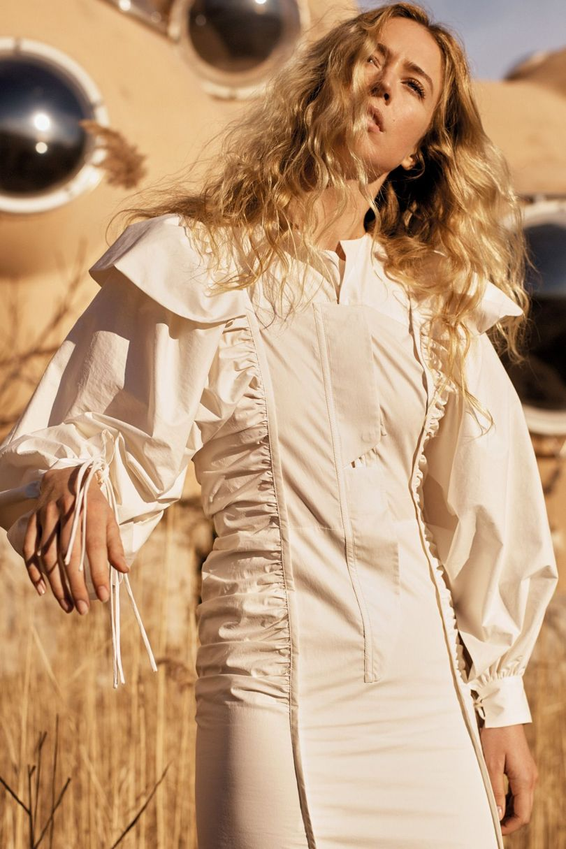 Mango's Committed Collection only uses environmentally friendly organic or recycled cotton and polyester.