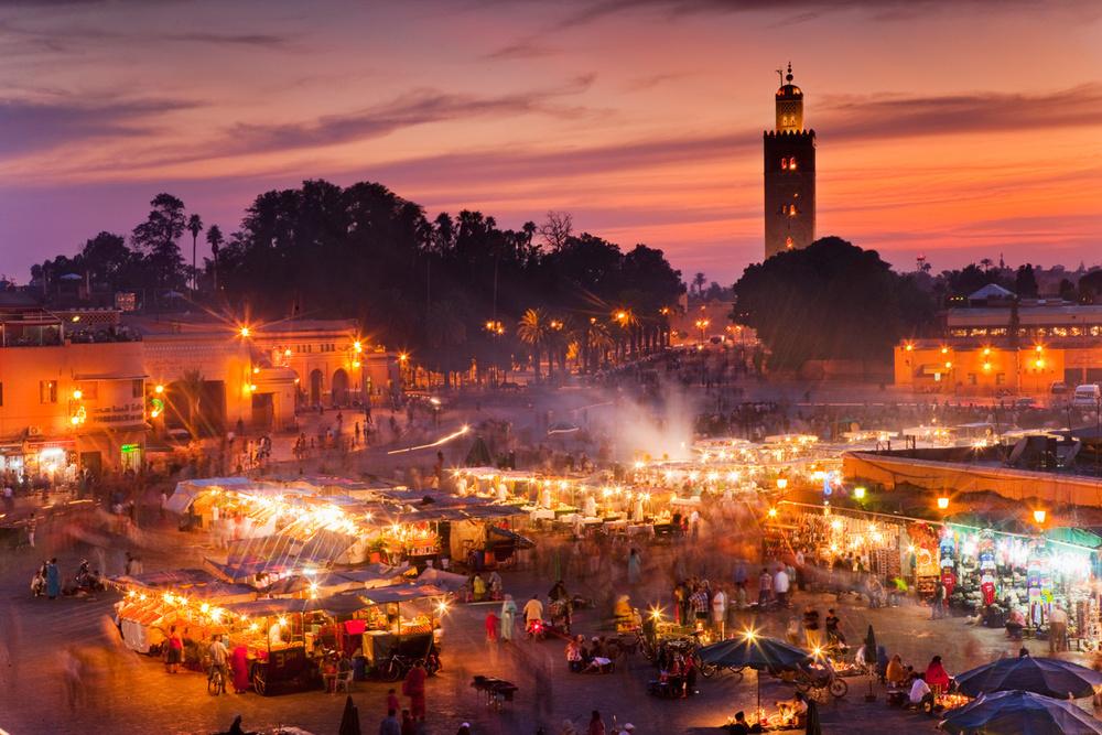 Jemaa El Fna at Sunset.jpg