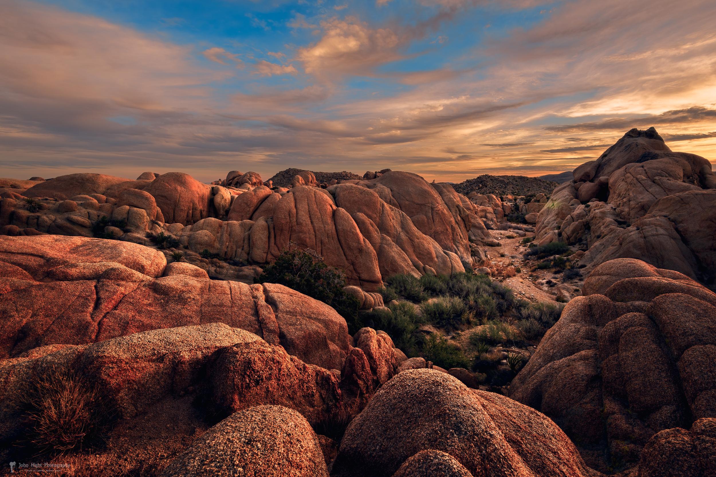 Rocks at Sunrise