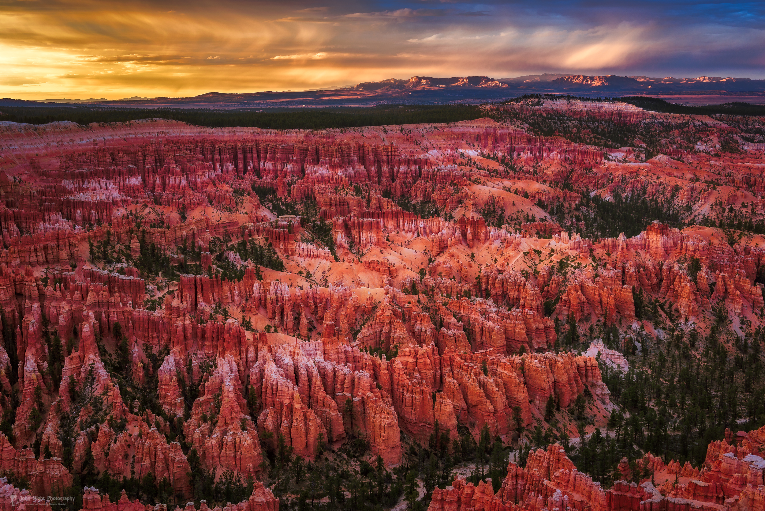 Bryce Canyon in the Glow of Sunset