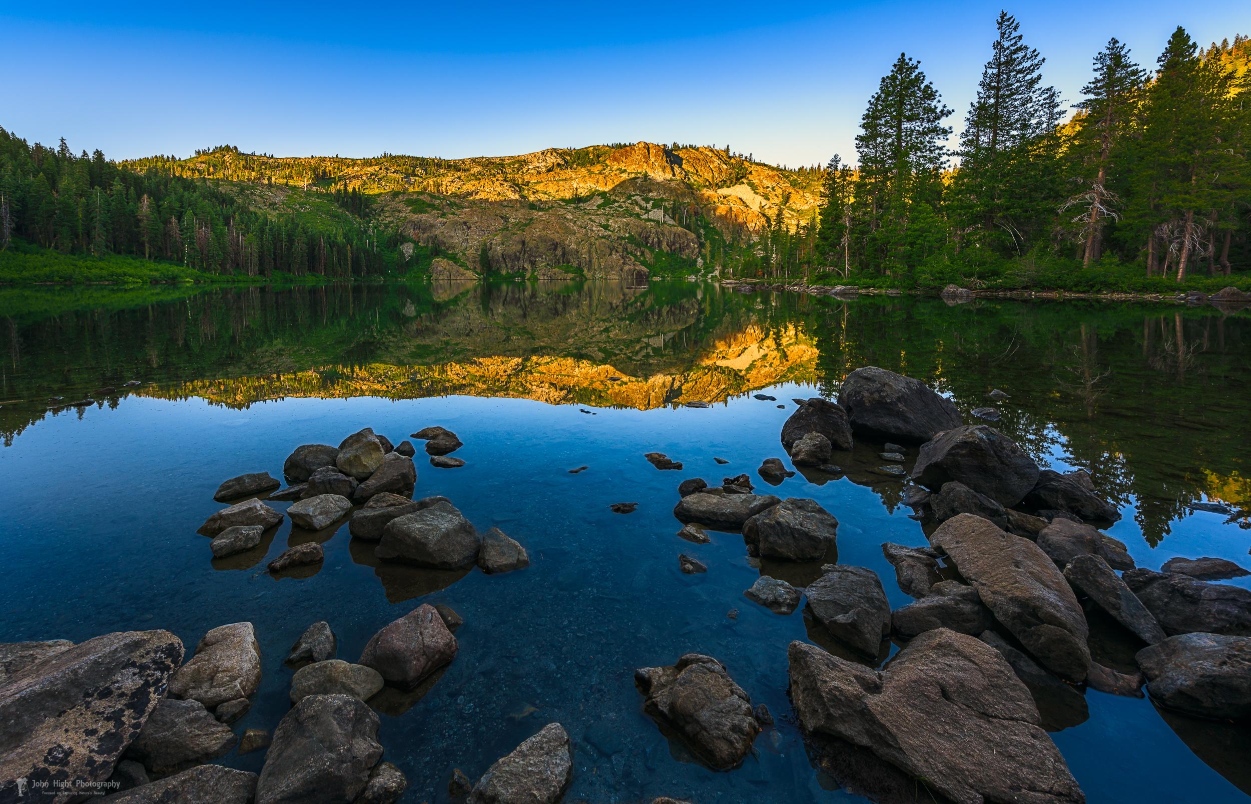 Morning Reflection on Castle Lake