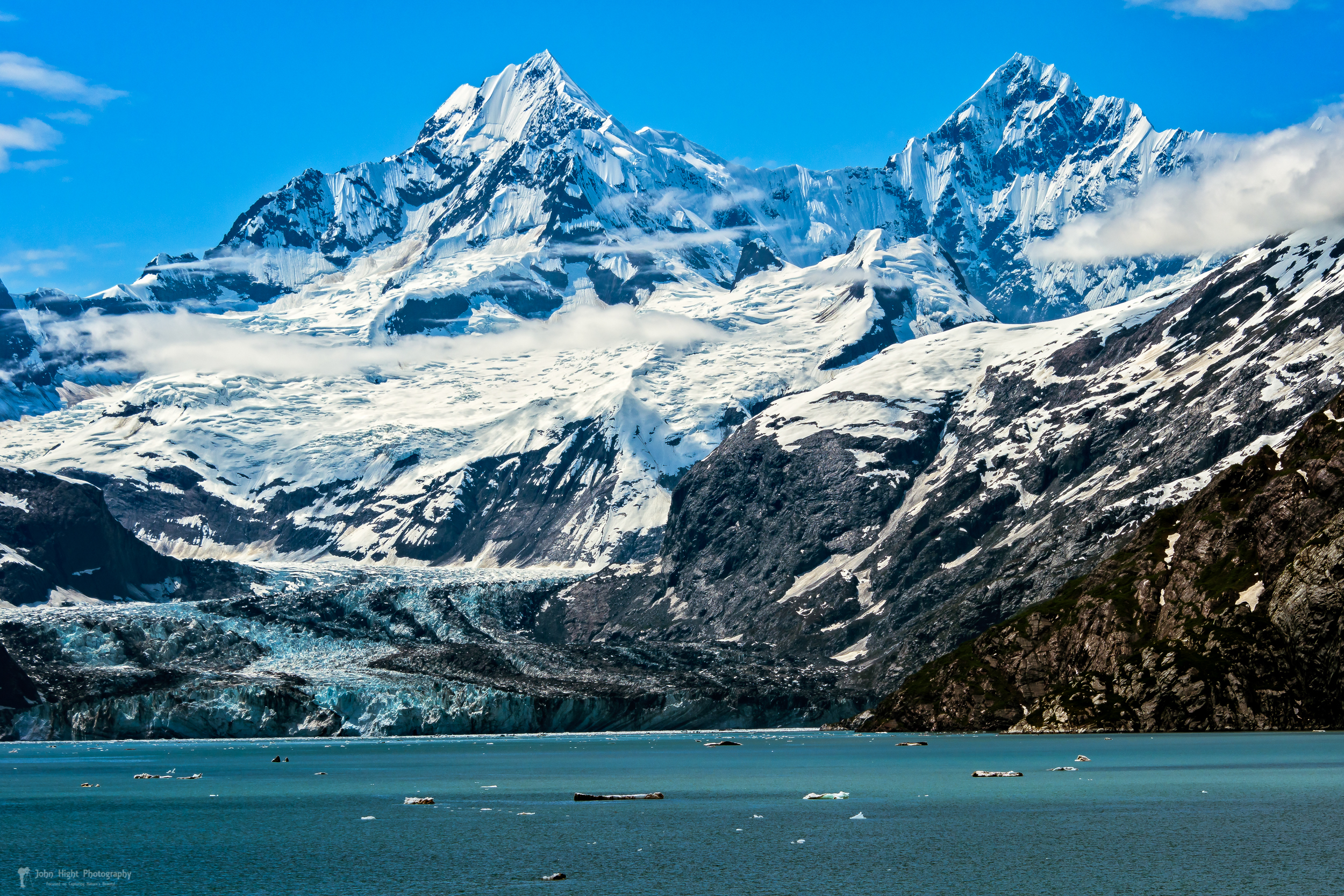 The John Hopkins Glacier