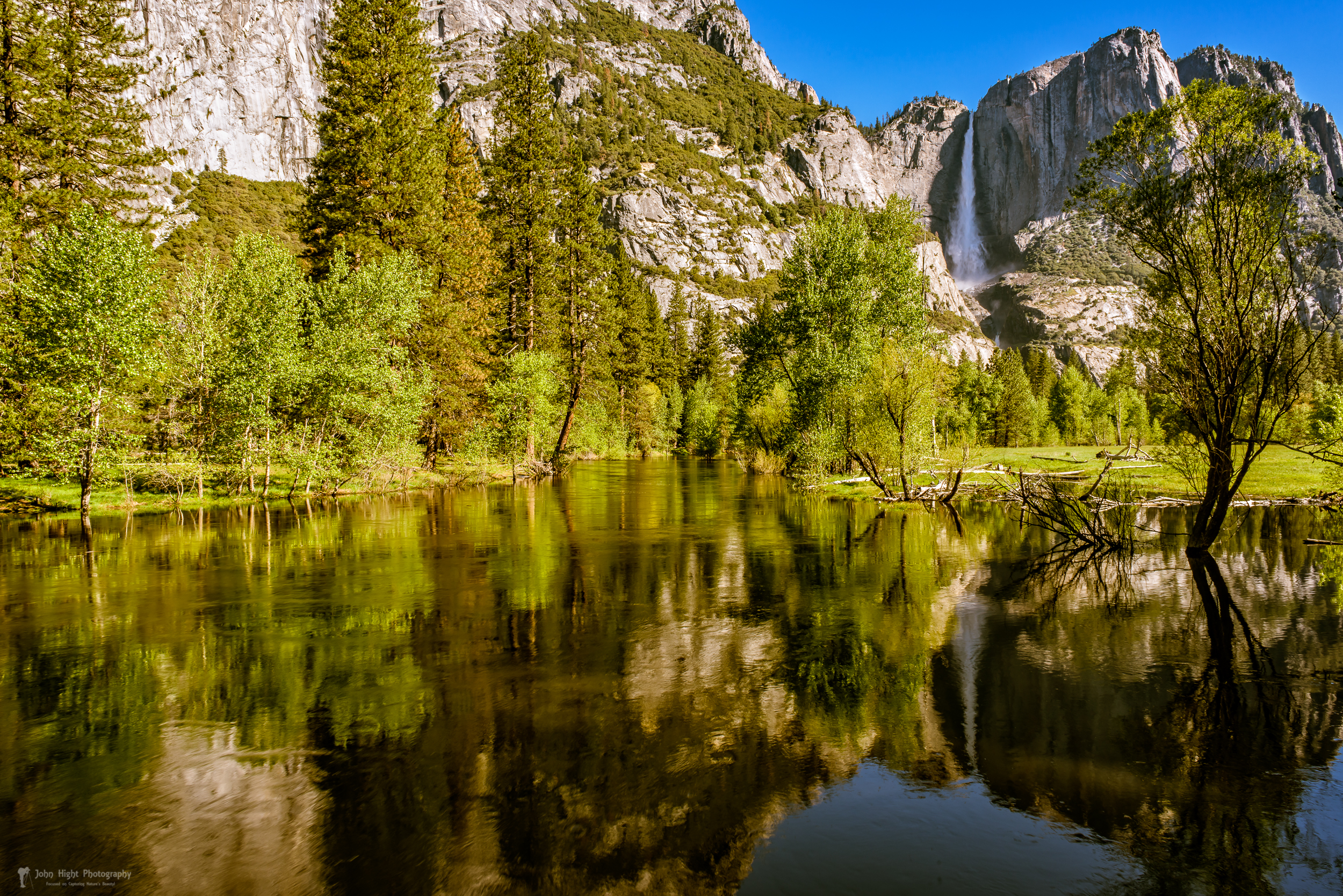 Yosemite Reflections on the Merced River