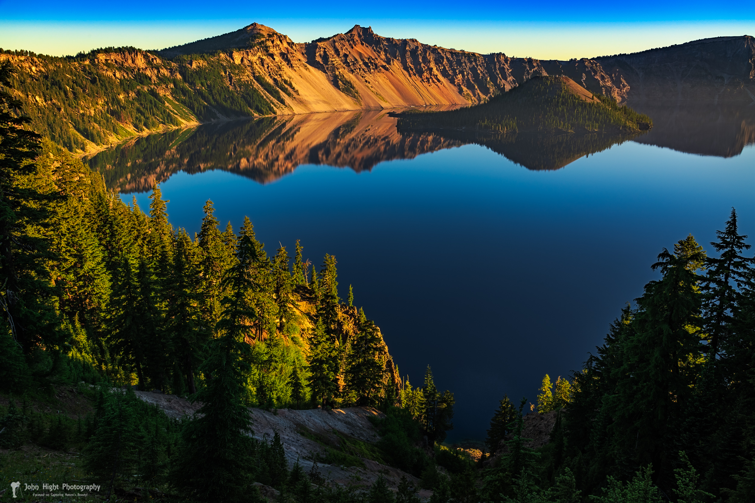 Morning Reflection on Crater Lake